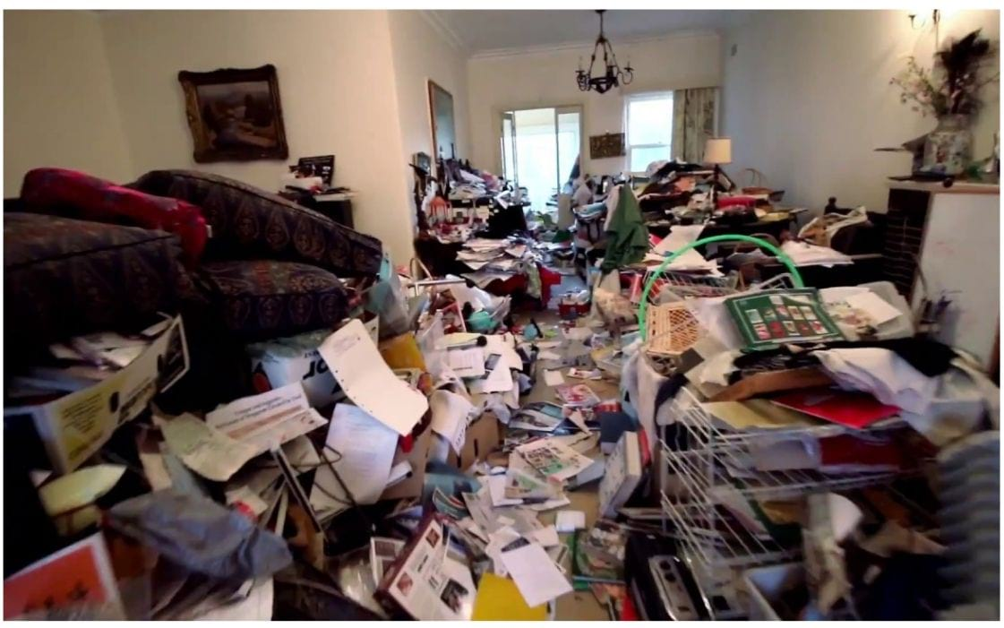 Clean hoarders house