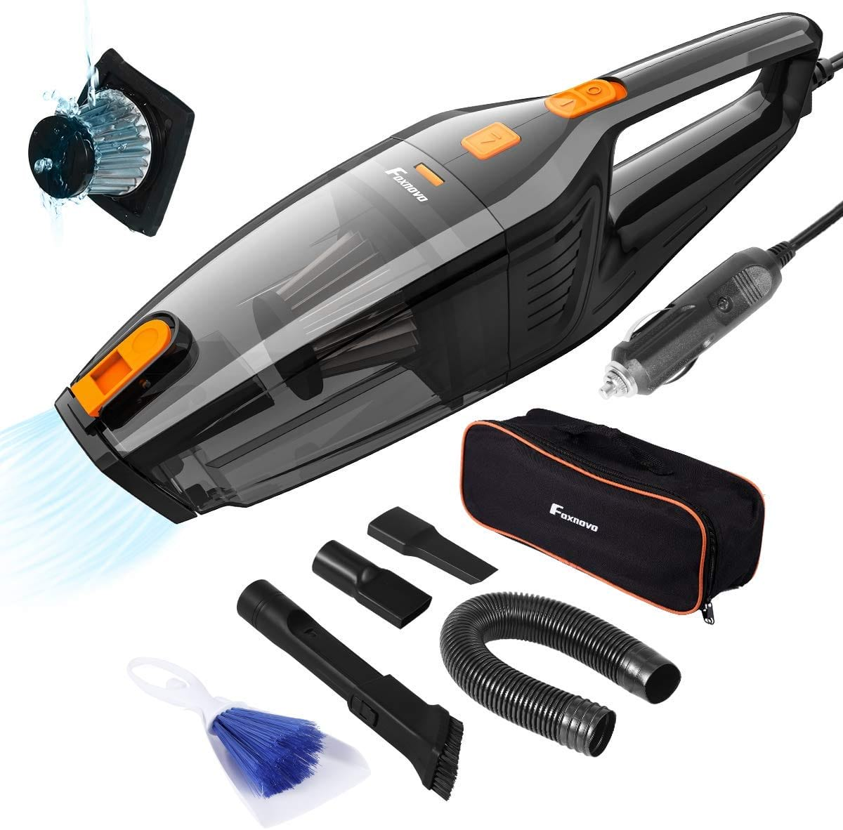 Foxnovo Portable Car Vacuum