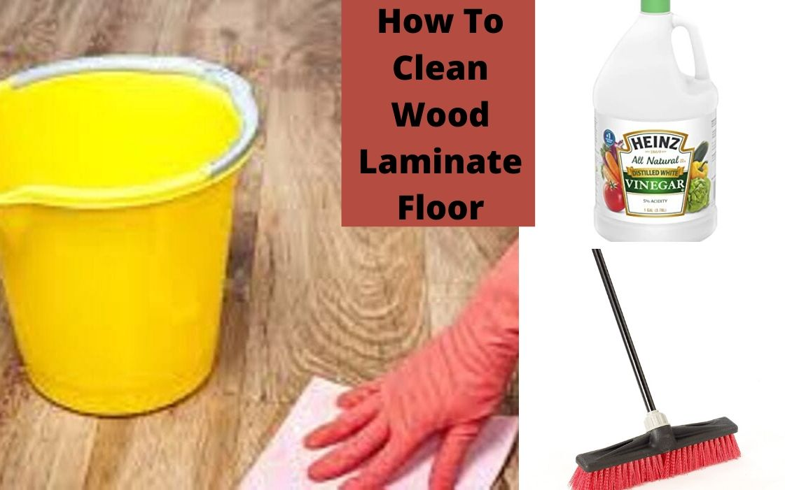 How to clean wood laminate floor