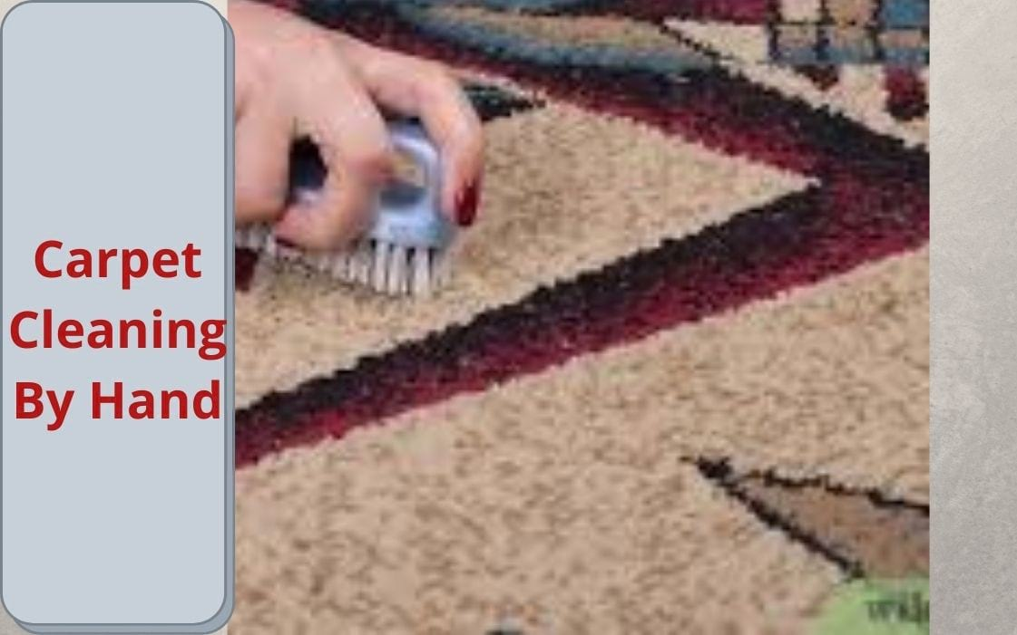 hand carpet cleaning
